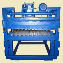 The design of the machine for the production of corrugated board