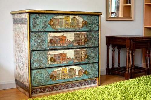 Luxury decoupage