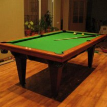 Design and creation of a billiard table with his hands