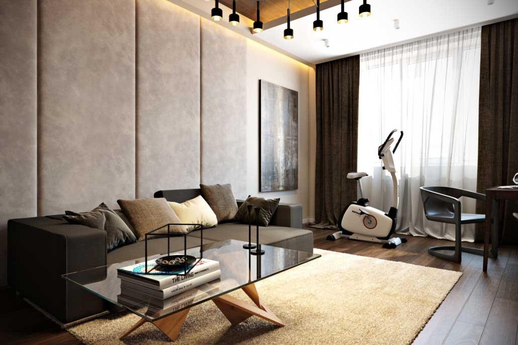 Progettazione soggiorno di 16 metri quadrati .m . Una selezione dei progetti che vi innamorerete ...