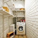 Laundry area.A photo