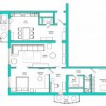 Apartment layout.A photo