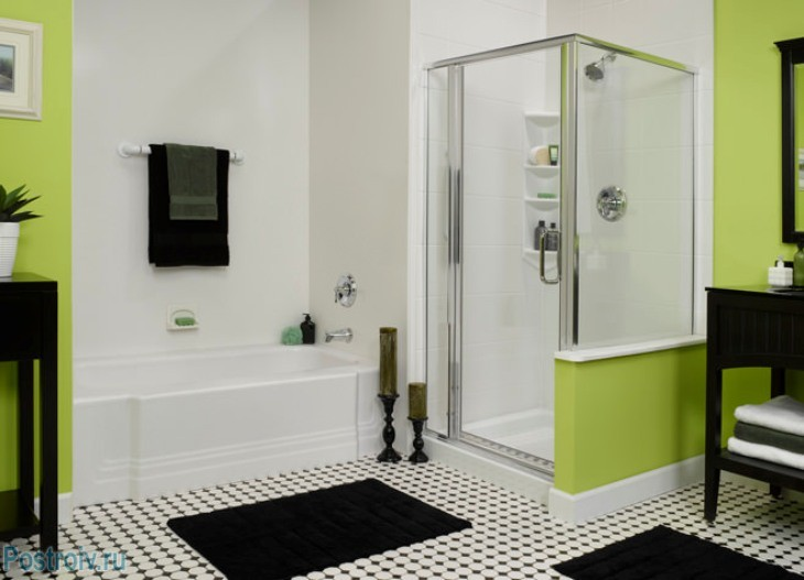 design - bathroom - room - in - green - tonah7