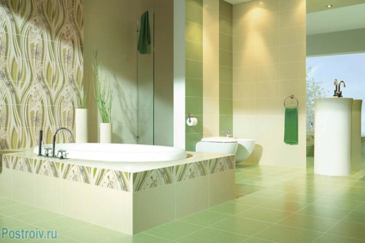 design - bathroom - room - in - green - tonah9