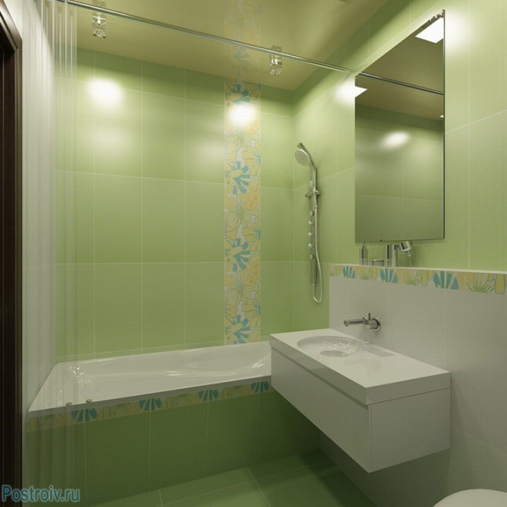 design - bathroom - room - in - green - tonah11