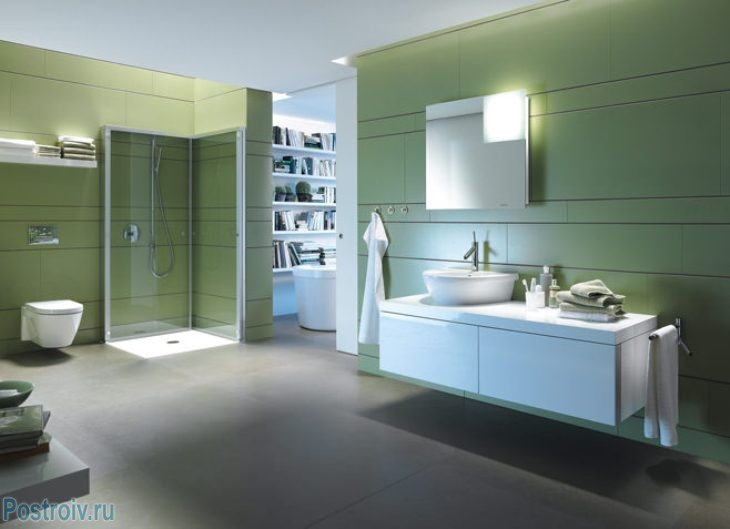 design - bathroom - room - in - green - tonah12