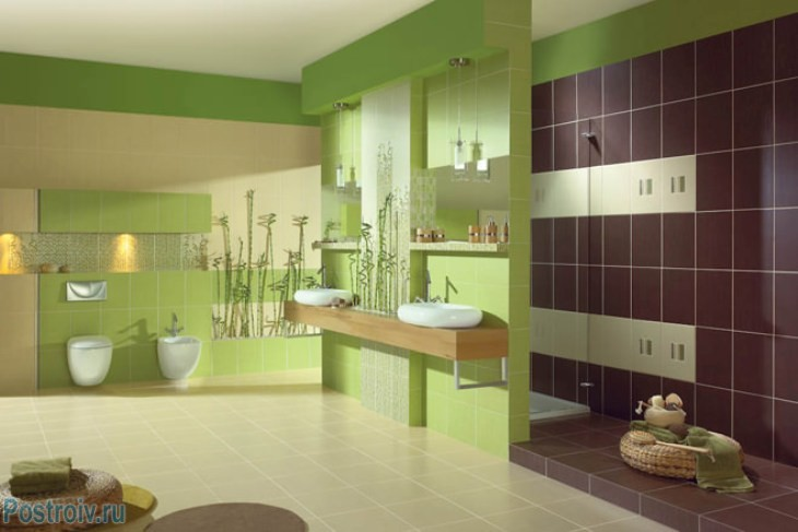 design - bathroom - room - in - green - tonah16
