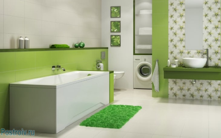 design - bathroom - room - in - green - tonah22