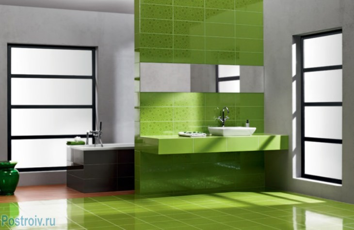 design - bathroom - room - in - green - tonah21