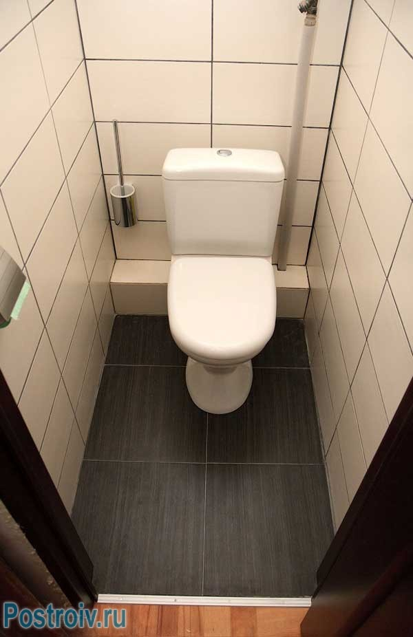 Photo Design of small size toilet