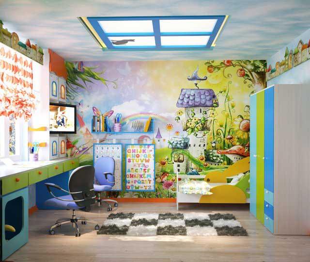 6 ideen f r das kinderzimmer innenraum eines kleinen for Kinderzimmer 9 jahre
