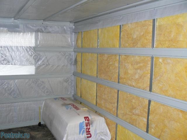 Vapor barrier walls of the house - Photo 04