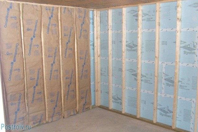 Vapor barrier wall - Photo 09