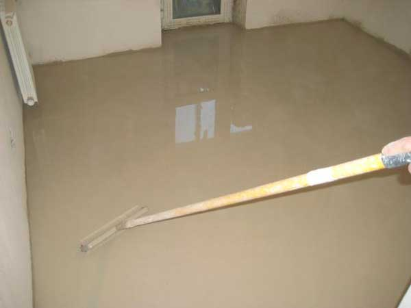 Repair of apartments with their own hands .Stage floor leveling