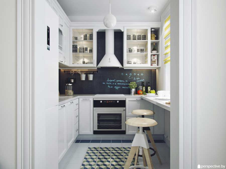 Bien connu Cucina design 6 mq .m . Foto di idee moderne . - Build Daily XZ79
