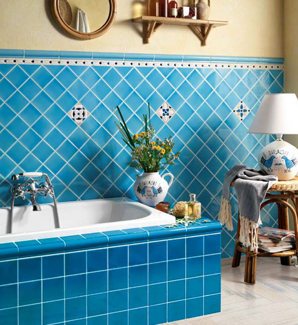 how to choose the tiles in the bathroom