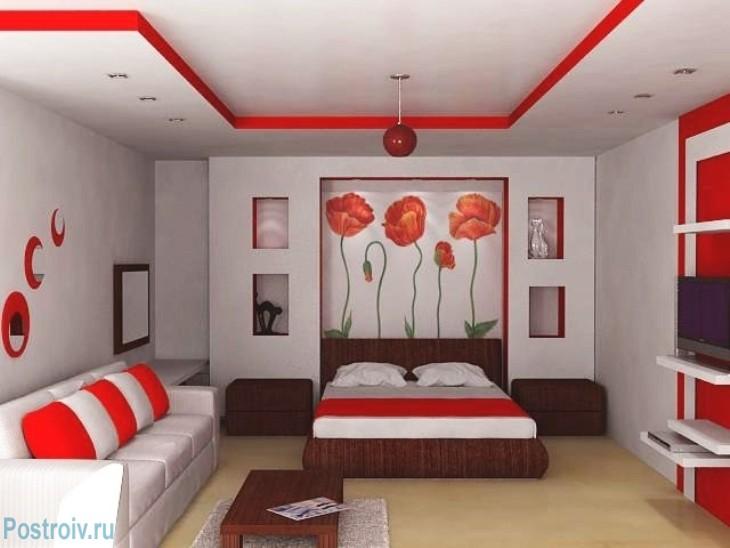 De rol van de rode kleur in het interieur de kleur waarde for Advanced interior designs reviews