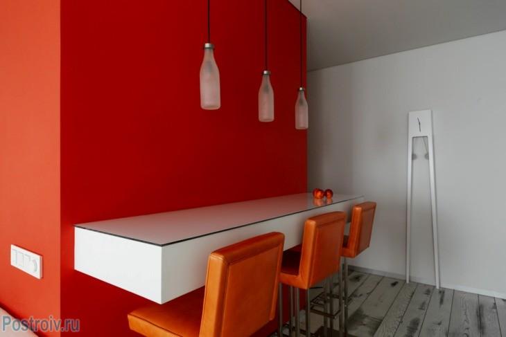 De rol van de rode kleur in het interieur de kleur waarde en winstgevende combinatie rode - Kleur gemengde kamer ...