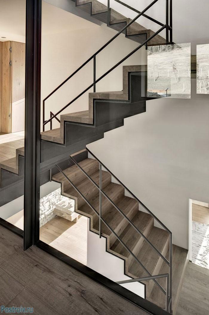Het ontwerp van de trap naar het huis 30 voorbeelden van originele en eenvoudige trappen - Kamer originele kind ...