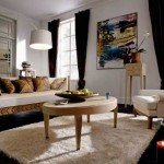 How to arrange the furniture in the room : the asymmetrical method