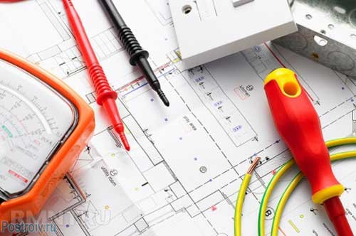 Draw a plan of the wiring in the apartment before Stroebe - Photo