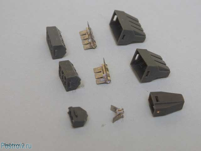 Wago terminals for connecting aluminum conductors - Photo