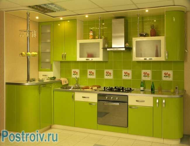 Ontwerp groene keuken .de juiste combinatie van kleuren   build daily