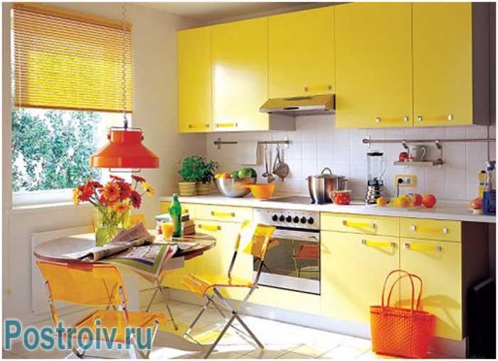 Parete Gialla Cucina : Cucina in giallo foto e creare un elegante ...