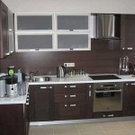Bottom kitchen wenge , top milky white .Picture 6
