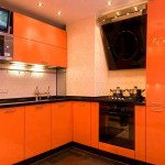 Orange Corner kitchen wenge .Photo 11