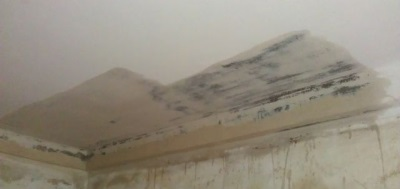 Humidification water ceiling