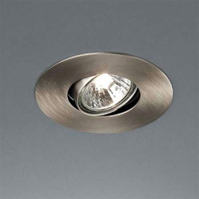 Ceiling lamp with thermo swivel ring