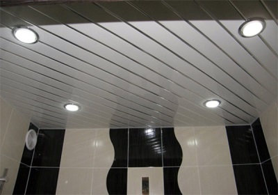 Glossy surfaces in the bathroom