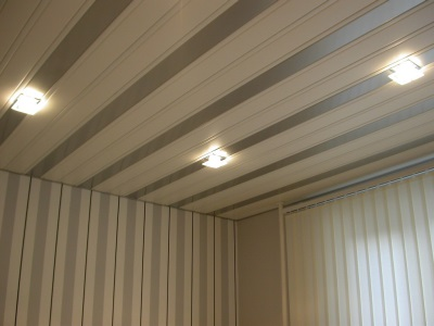 Rack suspended ceilings