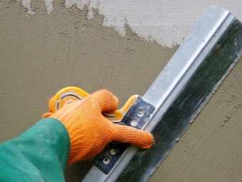 Application of cement plaster