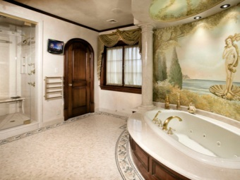 Photo Wall Mural bathroom in a classic style