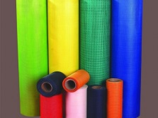 Colored glass fiber