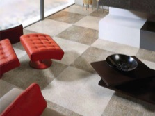 Porcelain tiles for floor from the collection Raspolano