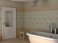 Tiles made of Birch collection