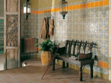Tiles in the national style