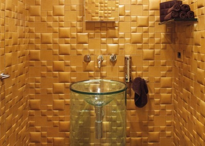 Decorative wall panels bathroom