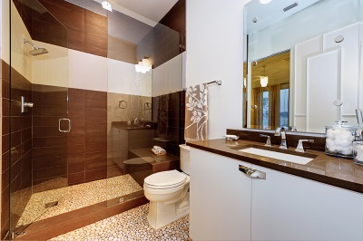 The basic way of bathroom design tiles