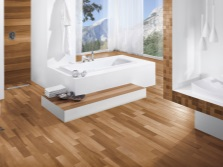 Rectangular tiles wood