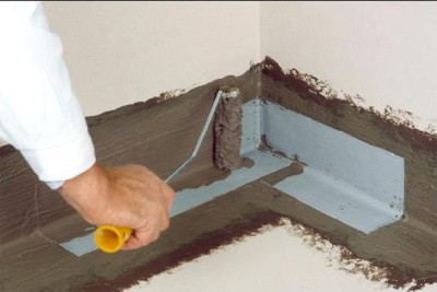 Waterproofing of the floor in the bathroom
