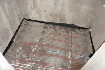Hydro and thermal insulation of the floor in the bathroom