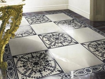 Monokottura in floor design