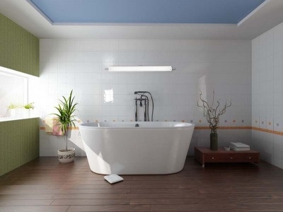 Waterproof laminate bathroom 32 33 Class