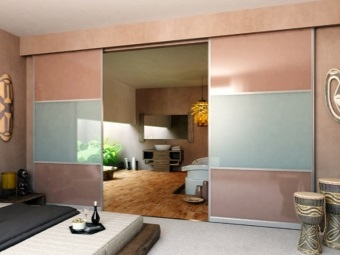 Sliding doors with invoice system