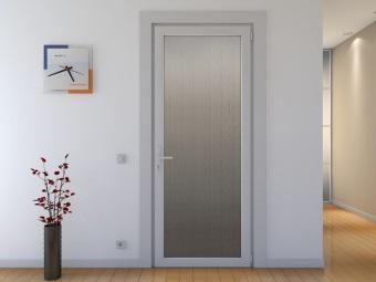 Türen aus Kunststoff für Bad und WC : Auswahl, wie PVC-Tür zu ...