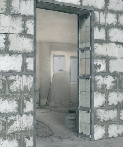 Reducing the doorway drywall